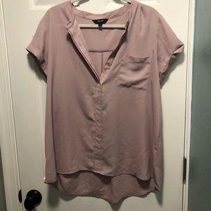 Blush pink XL Simpy Vera Verawang blouse
